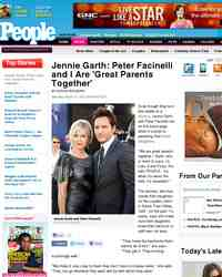 Jennie Garth Peter Facinelli and Are Great: People Magazine